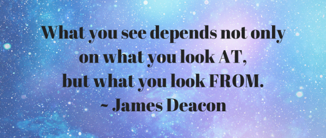 What you see depends not only on what you see, but what you look from (1)
